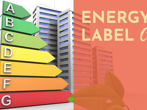 Energielabel C verplichting / Mandatory Energy Label C