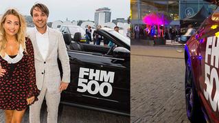 Mooiste vrouwen van Nederland op de achterbank bij de chauffeurs van D&B The Mobility Group