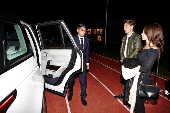 Chauffeurs D&B The Mobility Group Belvedere Vodka persevent