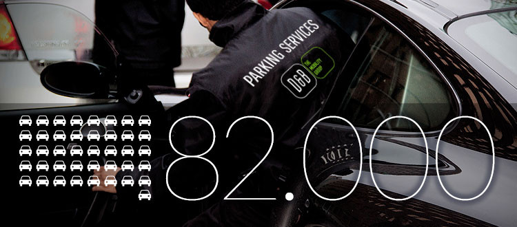 D&B The Mobility Group Valet Parking - 82.000 auto's in 2015
