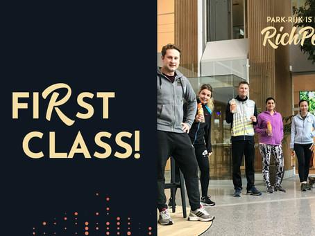 First Class First Bootcamp!