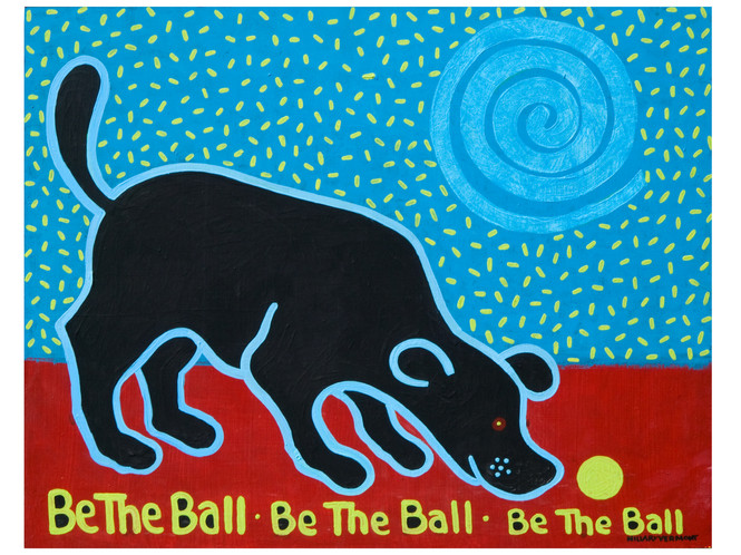 Be the Ball Be the Ball Be the Ball blac