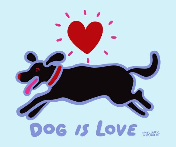 Dog is Love black dog on sky.jpg