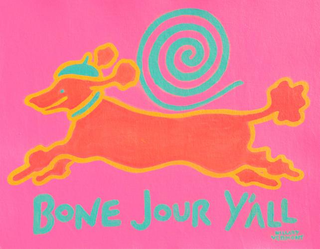 Bone Jour Y'All, Orange Poodle (2).jpg