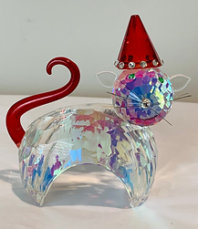 crystal cat collectible