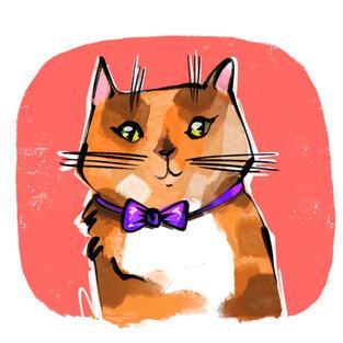 Custom Digital Pet Portrait