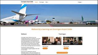 Groningen Airport portal live