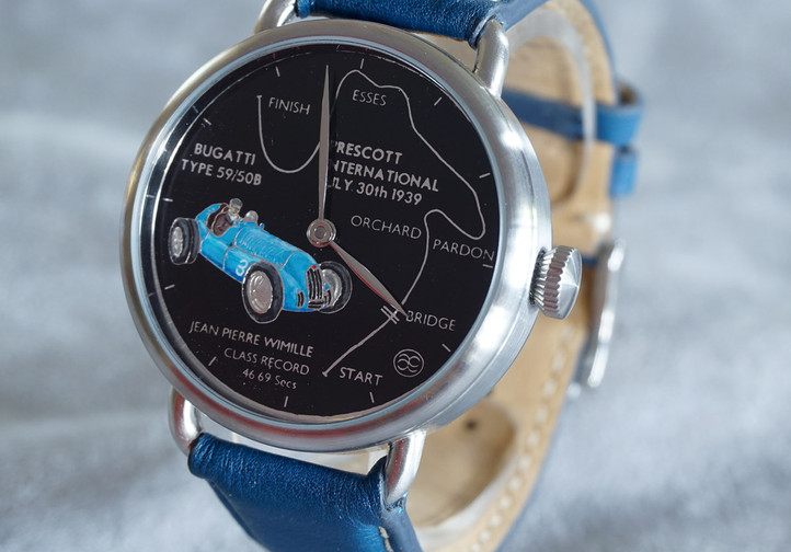 Handmade watch. A Race Against Time No.4