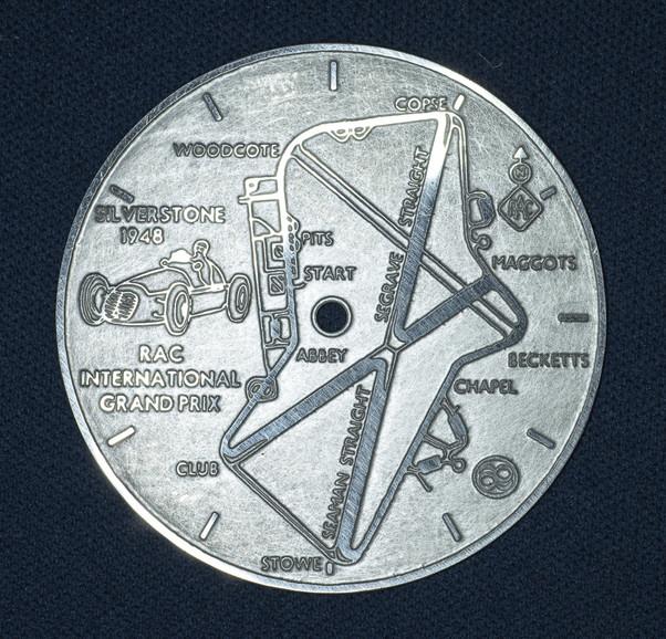 Argentium Silver dial.