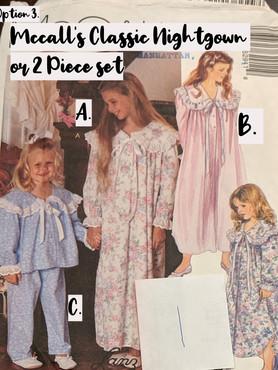 Classic McCall's Girl's Pajamas