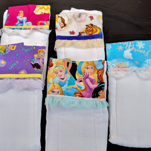 High Quality Burp Cloths - Set of 3