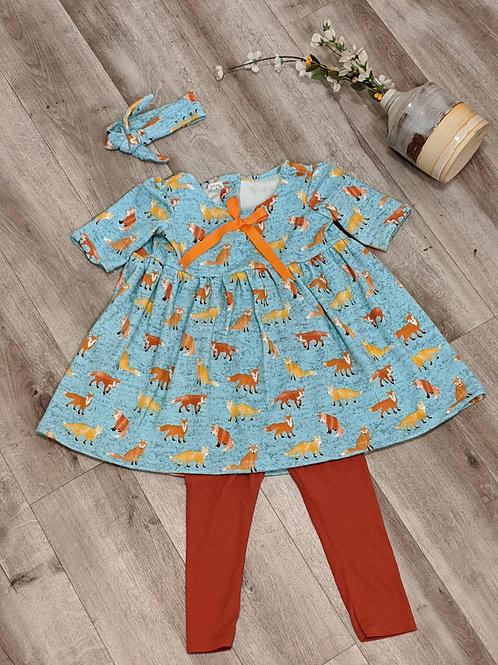 Girls Clothing Set Tunic With Leggings