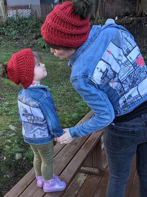 Mommy & Me Denim - Women's Small, Girls 3/4