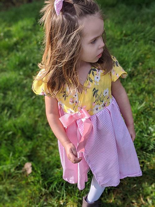 Girls Wrap Dress