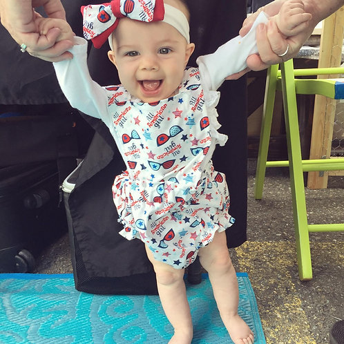 Festive Romper with Tank | 6-18 Months