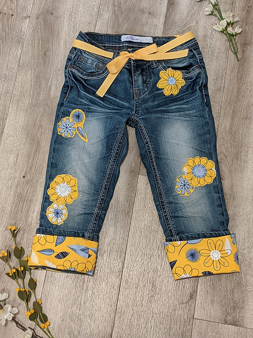 Upcycled Vigoss Jeans- Size 7 Girls