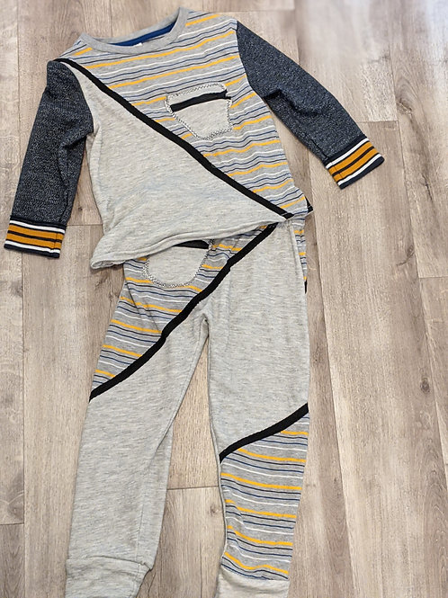 Upcycled Boys Two-Piece Outfit