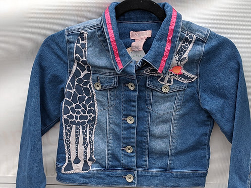 Giraffe Denim Jacket - Size 10/12