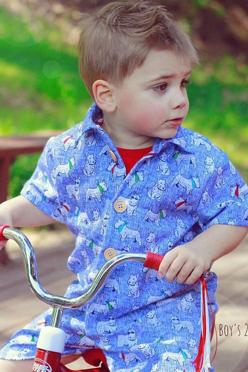 Boys 2 Piece Set with Hat