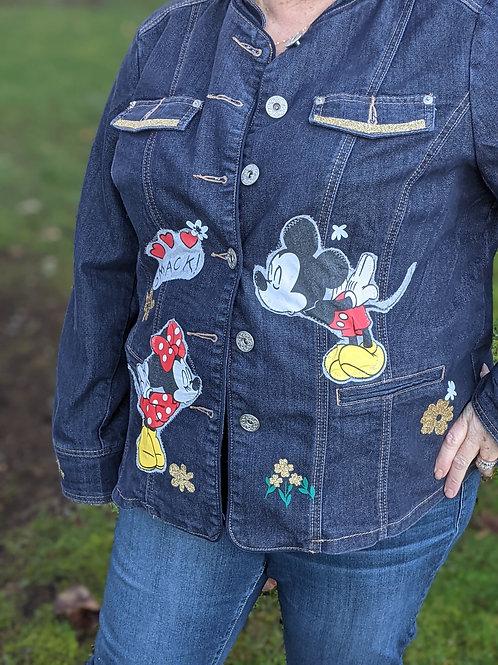 Mickey & Minnie Denim - Size 1X