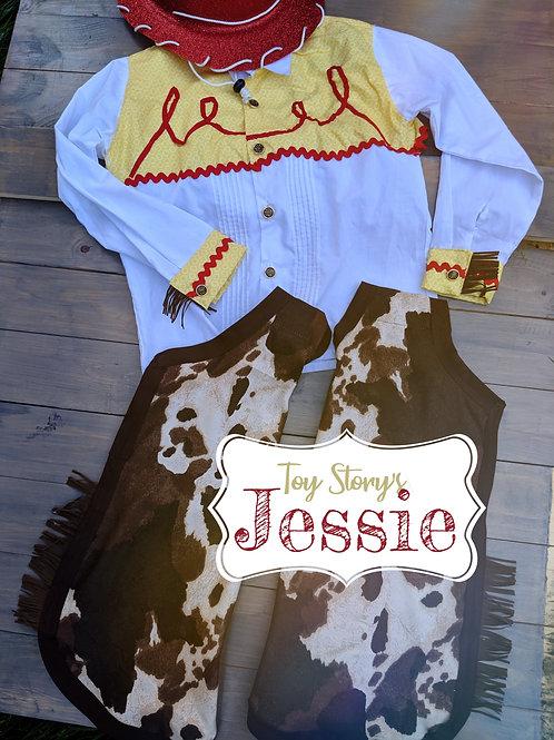 Jessie Toy Story Costume | Girls 16