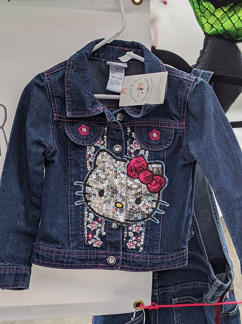Hello Kitty Denim Jacket - Size3/4