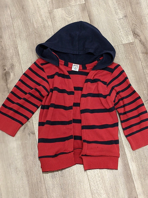 Upcycled Hooded Cardigan (Size 6-7)