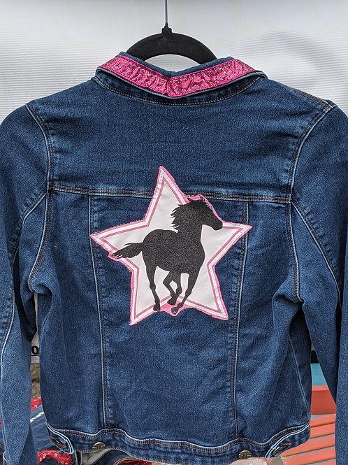 Horse Love Denim Jacket - Size XL