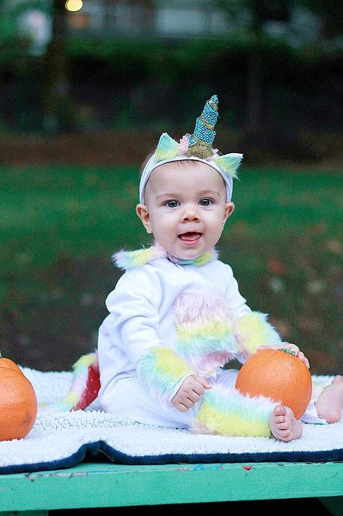 Unicorn Costume- 12/18 Months