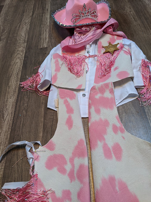 Pink Rodeo Cowgirl - Size 18-24 months
