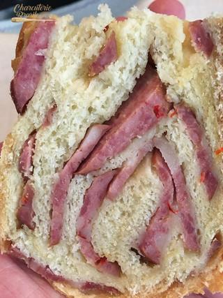 Pão Tortano  - Calabresa artesanal
