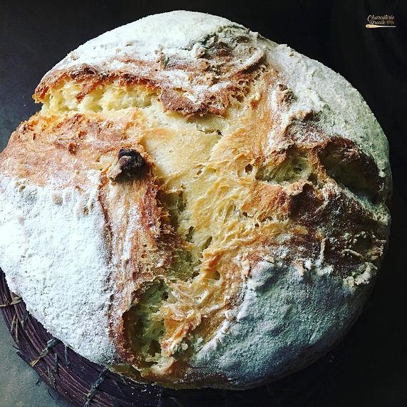 Pão rústico Charcuterie Brasile