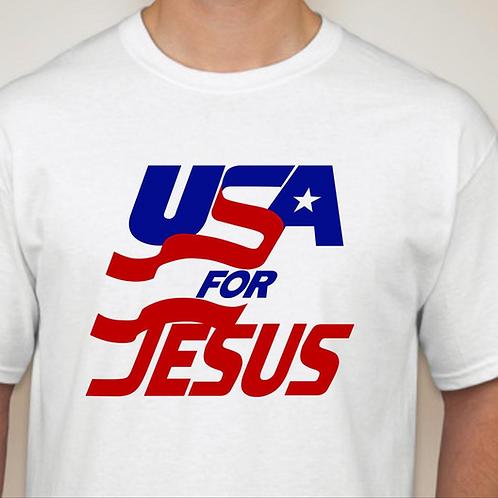 USA for JESUS tee