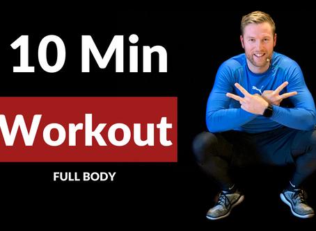 10 Minuten Workout zum Mitmachen