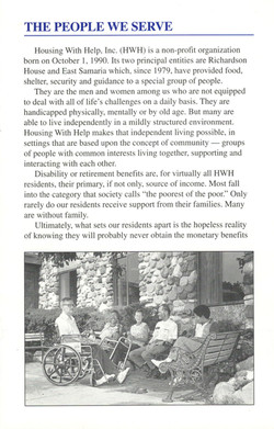 Housing With Help, Inc.