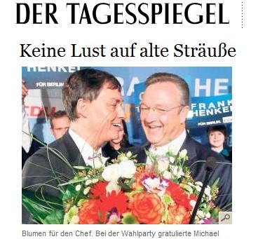 HENKELS CDU MUSS UM IHR MÜHSAM ERNEUERTES IMAGE BANGEN.