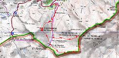 Ascension en crampons des pics d'Estrémère( ou Pourtalet) et de Peyrelue en boucle au départ du pont de Peyrelue