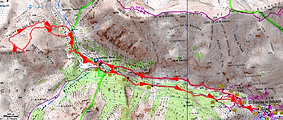 Randonnée raquettes Tête de l'Airon, au départ de Saint Dalmas le Selvage
