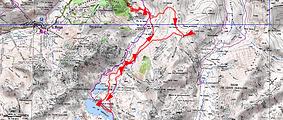 Randonnée raquettes lacs de Cadérolles et de Gréziolles par la crête des Cots