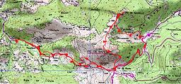 Randonnée et ascension du pic de Bazès, et du pic de Navaillo, en boucle par le col de Bazès. Départ depuis les Bourdas, après Ferrières dans le val d'Azun. Topo, itinéraire, trace GPS téléchargeable, carte IGN, et photo. Endroit sauvage.