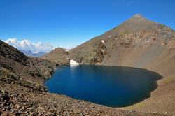 Pic et lac de Tebarray