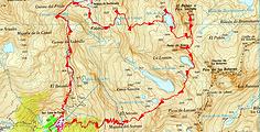 Randonnée et ascension El Peñon, appelé aussi pic Serrato, et de la Peña de Xuans. Boucle depuis Baños de Panticosa, en passant par les lacs Coanga, Xuans, Lavaza, Serrato. Trace GPS, topo, itinéraire, photos.; Randonnée sauvage et panorama fantastique