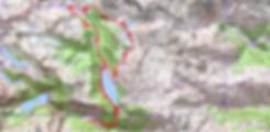 Circuit des lacs de Gourguet, Bastan, et Bastanet, depuis Artigusse.