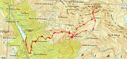Randonnée et ascension du Puy Arcol et du pic de la Foqueta au départ de la Sarra.