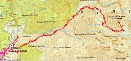 Randonnée et ascension du Garmo de la Mina depuis Sallent de Gallego