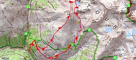 randonnée et ascension du Claï inférieur et retour par le lac des Babarottes