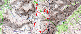 Randonnée et ascension de la cime de la Gorgia et de la cime de Bolofré