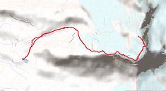 Ascension de Grand Paradis en val d'Aoste, Italie, depuis le refuge Victor-Emmanuel II