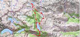 Randonnée lac de Port-Bielh et refuge de Bastan par les lacs de Bastanet