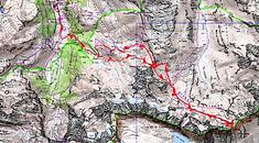 Carte IGN 1/25 Port Neuf de Pinède